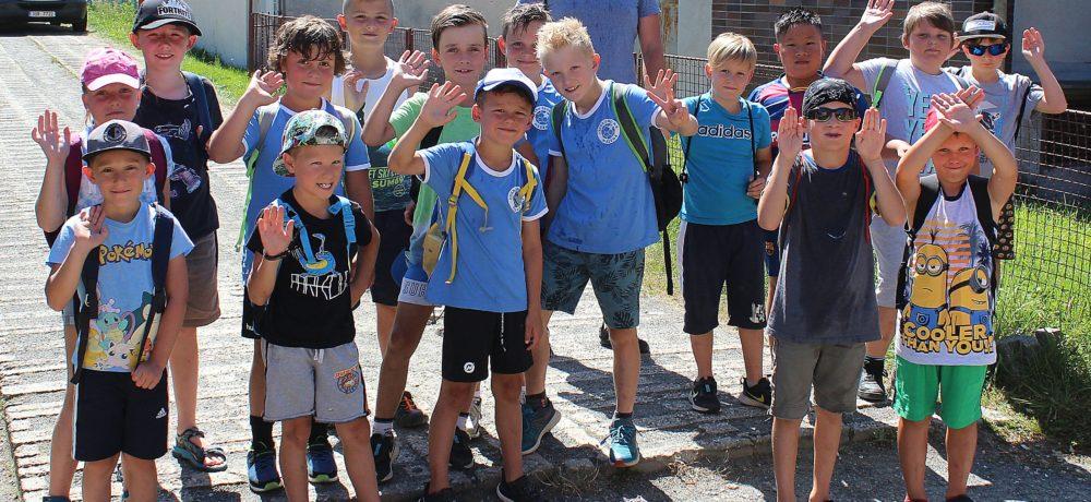 V rekreačním středisku U starého rybníka budou mladí házenkáři makat na fyzičce a získávat potřebné zkušenosti na podzimní část soutěží sezony 2020/21