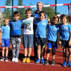 Přípravka Jiskry odehrála druhý turnaj Středočeského přeboru