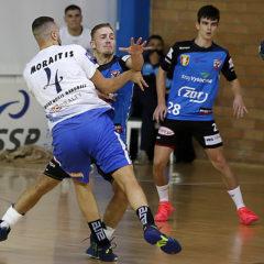 Zručský odchovanec Aleš Dolejší odehrál v rámci 2. kola evropského poháru házené dvojutkání na Kypru