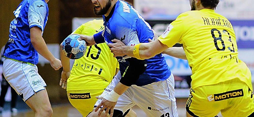 Sportovci v době pandemie koronaviru – aktuálně 5. listopadu 2020: Martin Kovařík, odchovanec zručské Jiskry, hraje házenou za HBC Ronal Jičín