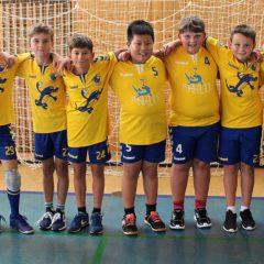 Minižáci Jiskry se představili na turnaji 4+1 Krajského svazu házené Vysočina